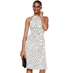 Kate Spade Leopard Dot Halter Dress